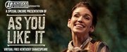 Kentucky Shakespeare to Present AS YOU LIKE IT Free on Facebook
