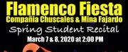 Teatro Paraguas andCompania Chuscales & Mina Fajardoto Present THE SPRING STUDENT RECITAL