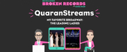 Exclusive: Ben Rimalower's Broken Records QuaranStreams- My Favorite Broadway: The Leading Ladies