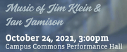 Beethoven In The Rockies Presents THE PIANO MUSIC OF JIM KLEIN & IAN JAMISON