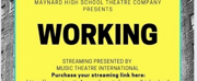Maynard High Will Present Spring Musical WORKING This Weekend Photo