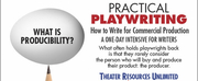 TRU Presents Virtual Workshop Practical Playwriting: How To Write For Commercial Productio Photo
