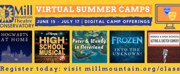 Mill Mountain Theatre Announces 2021 Summer Camps