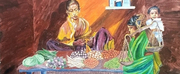 Bay Area Artist Sujata Tibrewala Captures Indian Farmers Plight In A New Painting Photo