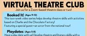 Playhouse Theatre Academy Announces Virtual Theatre Club