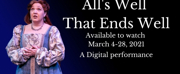 The Atlanta Shakespeare Company at The Shakespeare Tavern Playhouse Presents ALLS WELL THA Photo