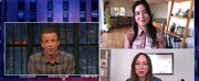 VIDEO: Maya Erskine and Anna Konkle Talk PEN15 on LATE NIGHT WITH SETH MEYERS Photo