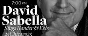 "DAVID SABELLA Will Perform ""25CHICAGO25""  at Feinsteins/54 Below November 17th"