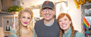 Photo Flash: John Oliver Visits FROZEN on Broadway
