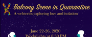 TEATRX to Present Virtual Production of BALCONY SCENE IN QUARANTINE Photo