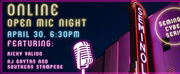 Seminole Theatre Will Host an Online Open Mic Night Tonight, April 30