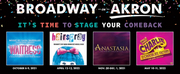 Playhouse Square Announces Return of Broadway in Akron