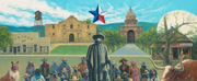 Artist Jack Terry Creates TEXAS MASKUERADE PARTY Painting in Support of Public Awareness C Photo