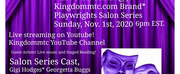 Kingdommtc Announces Virtual Playwrights Salon Series Photo