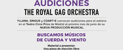 CASTING CALL: Audiciones para THE ROYAL GAG ORCHESTRA Photo