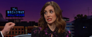 VIDEO: Alison Brie Says She Fainted At A Beastie Boys Show on THE LATE LATE SHOW
