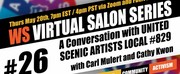 Wingspace Theatrical Design Presents Free Virtual Salon With United Scenic Artists L Photo