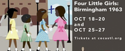 The Black Rep And COCA Announce Co-Production Of FOUR LITTLE GIRLS: BIRMINGHAM 1963