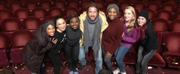 Photo Flash: Gerard Butler Visits the Queens of SIX