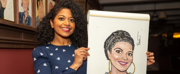 Photo Coverage: Rebecca Naomi Jones Receives Portrait at Sardi\