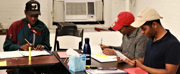 Photo Flash: First Rehearsal for Cherry Lane Theatre\