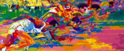 LeRoy Neiman Opens The Brand New U.S. Olympic Museum July 30 Photo