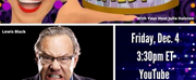 BWW Previews: Julie Halston and Lewis Black Are Like Comedy and Tragedy Masks on VIRTUAL H Photo