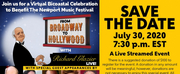 Tune in to FROM BROADWAY TO HOLLYWOOD - LIVE WITH RICHARD GLAZIER Benefiting the Newport M Photo