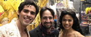 Photo Flash: Lin-Manuel Miranda Stops By ALADDIN on Broadway