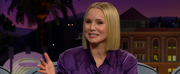 VIDEO: Kristen Bell Talks About Shooting CROSSWALK: THE MUSICAL on THE LATE LATE SHOW WITH JAMES CORDEN