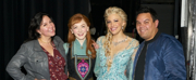 Photo Flash: Kristen Anderson-Lopez & Robert Lopez Visited FROZEN North American Tour Cast in LA