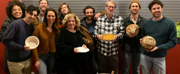 Photo Flash: OKLAHOMA! Celebrates Thanksgiving With a Potluck With Ben Stiller and His Daughter, Ella