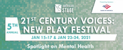 BWW Previews: THE 21ST CENTURY VOICES: NEW PLAY VIRTUAL FESTIVAL SPOTLIGHTS MENTAL HEALTH  Photo