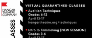 Hangar Theatre Offers Virtual Classes and More