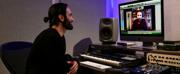 Photo Flash: Ramin Karimloo In Studio To Record Johanna Telanders KALEVALA THE MUSICAL Photo
