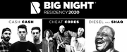 Big Night Announces Epic Artist Residency for 2020