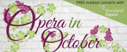 Maryland Opera Announces Two Outdoor Concerts as part of the OPERA IN OCTOBER Series Photo