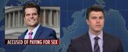 VIDEO: SATURDAY NIGHT LIVEs Weekend Update Tackles Rep. Matt Gaetz, Bidens New Deal, and M Photo