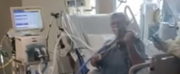 VIDEO: ICU COVID-19 Patient Plays the Violin Form His Hospital Bed Photo
