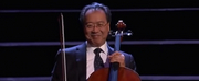 Yo-Yo Ma Performs Live in the Global Concert Hall Photo