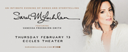 Sarah McLachlan Announced At Eccles Theater