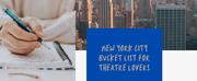 BWW Blog: New York City Bucket List for Theatre Lovers Photo