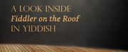 New Book Will Give An Inside Look at FIDDLER ON THE ROOF IN YIDDISH Photo