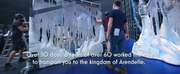 VIDEO: Watch a Set Build Timelapse for FROZEN in the West End