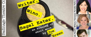 Badinage Theatre Company Presents WRITER. WINO. BAGEL EATER. This November At The Tank
