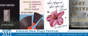 29th Annual Ashland New Plays Festival Is Virtual Live And On Demand