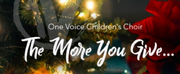 One Voice Childrens Choir Release Holiday EP The More You Give Photo
