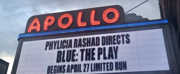Up on the Marquee: BLUE at the Apollo Theater Photo