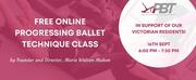 Marie Walton-Mahon Will Host a Free Online Progressing Ballet Technique Class Photo