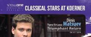 Show One Productions Presents Three International CLASSICAL STARS AT KOERNER in 2019-2020